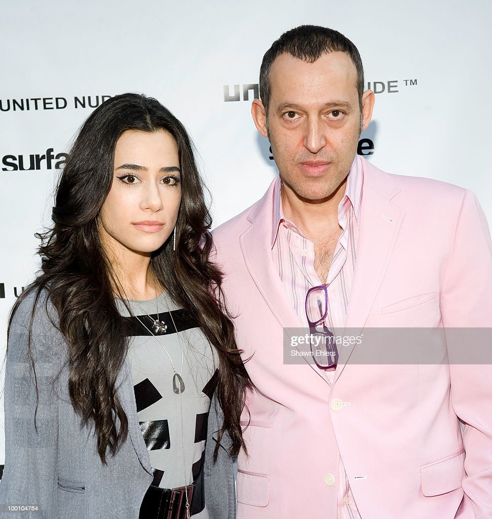 Ivana Rashid (L) and Karim Rashid attend the launch celebration of the new U.S. flagship store at Bond Street NYC with a cocktail reception at United Nude Boutique on May 20, 2010 in New York City.