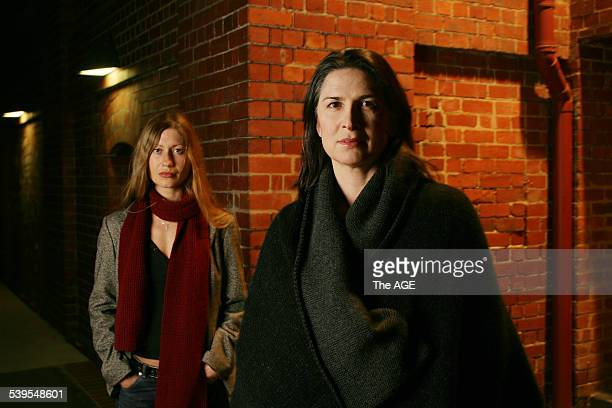 Ivana Sajko Croation playwright who has written WomanBomb starring Pamela Rabe on 17th June 2005 THE AGE METRO Picture by RODGER CUMMINS