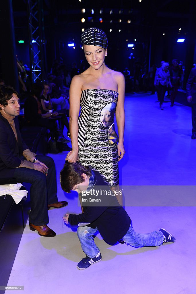 Ivana Sert attends the Tween show during Mercedes-Benz Fashion Week Istanbul Fall/Winter 2013/14 at Antrepo 3 on March 12, 2013 in Istanbul, Turkey.