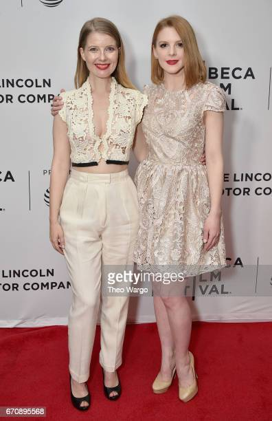 Ivana Shein and Ashley Bell attend the 'Psychopaths' Premiere during 2017 Tribeca Film Festival at Cinepolis Chelsea on April 20 2017 in New York City