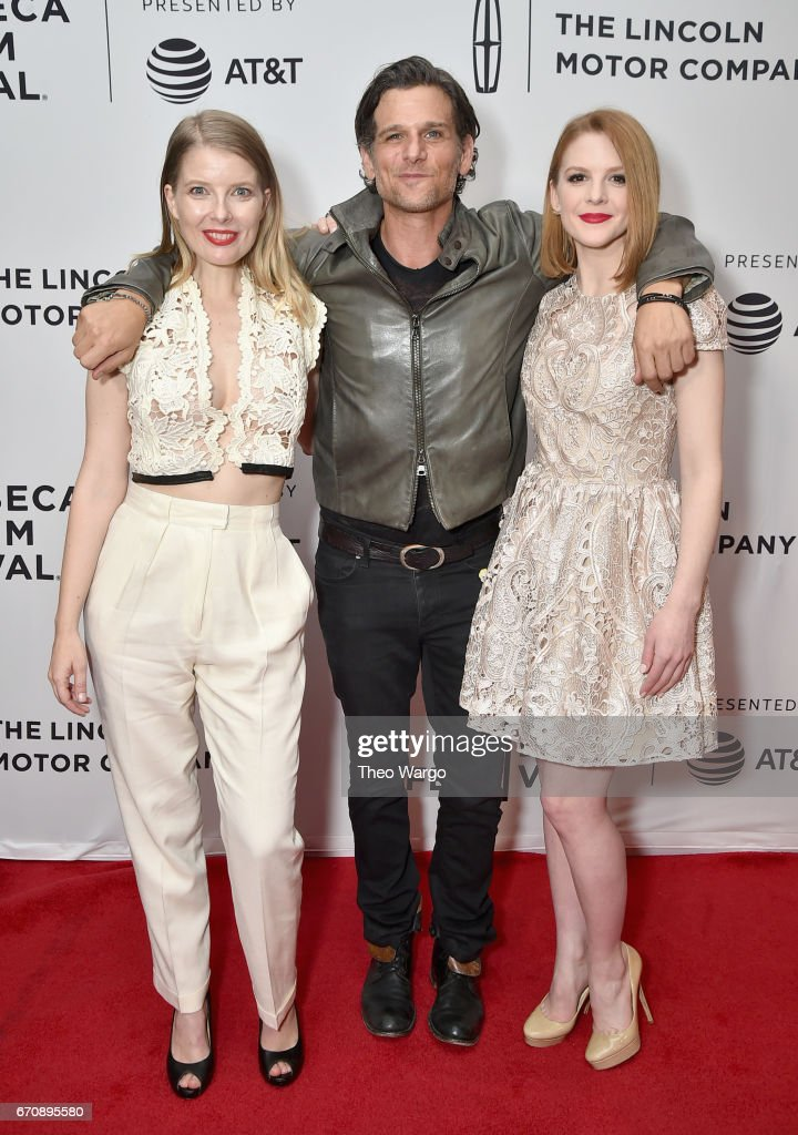 Ivana Shein, Mark Kassen and Ashley Bell attend the 'Psychopaths' Premiere during 2017 Tribeca Film Festival at Cinepolis Chelsea on April 20, 2017 in New York City.