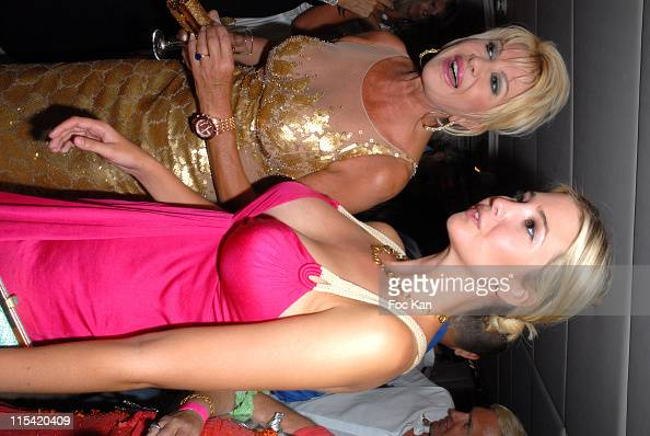 Ivana Trump and and Ivanka Trump during Denise Rich's Annual Summer ...