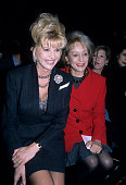 Ivanka Trump and Barbara Walters attend a fashion show New York October 1 1996