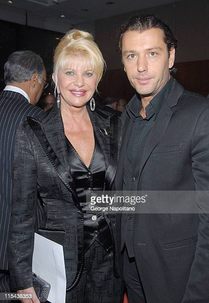 Ivana Trump and fiance' Rossano Rubicondi at the AfterParty for ' Neil Sedake Celebrates Fifty Years of Hits' at Lincoln's Center Avery Fischer Hall...
