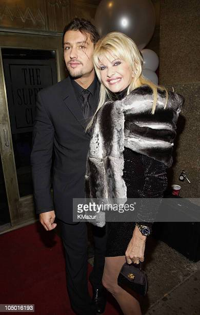 Ivana Trump and guest during Sean 'P Diddy' Combs Birthday Party at The Supper Club at The Supper Club in New York City New York United States