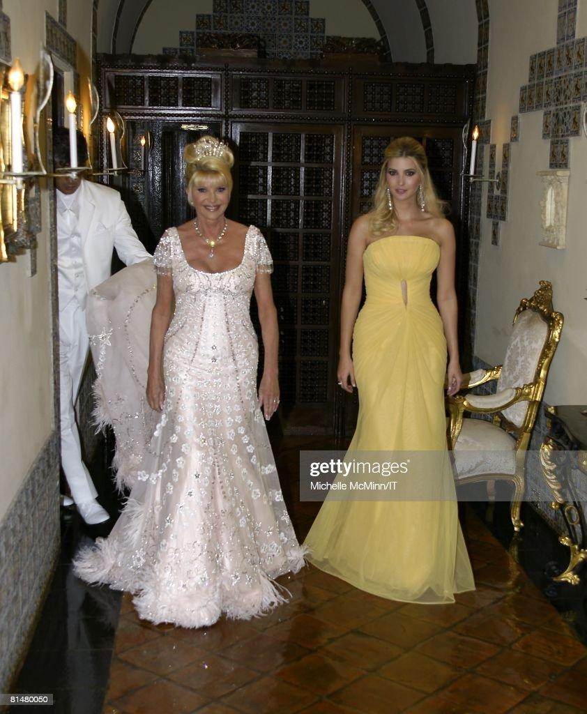 ivana trump wedding dress designer