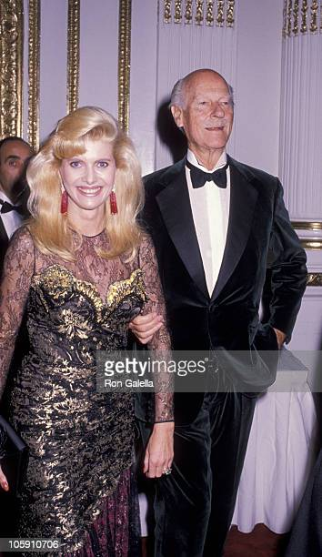 Ivana Trump and Norman Parkerson during The Fashion Group International's 6th Annual 'Night of 100 Stars' at The Plaza Hotel in New York City New...