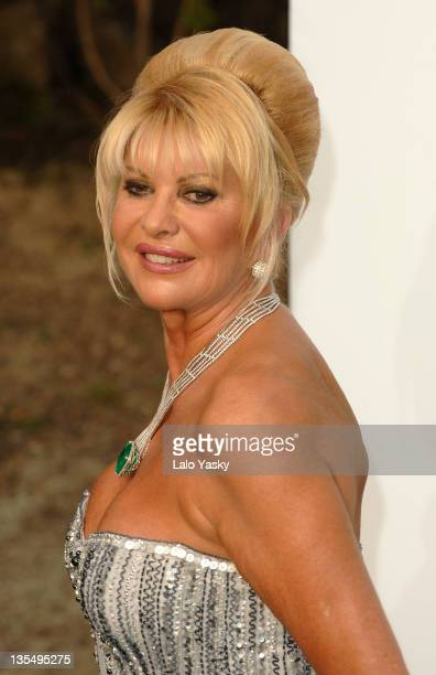 Ivana Trump at amfAR's Cinema Against AIDS event presented by Bold Films the M•A•C AIDS Fund and The Weinstein Company to benefit amfAR