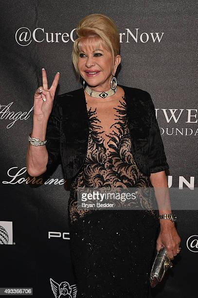 Ivana Trump attends Angel Ball 2015 hosted by Gabrielle's Angel Foundation at Cipriani Wall Street on October 19 2015 in New York City