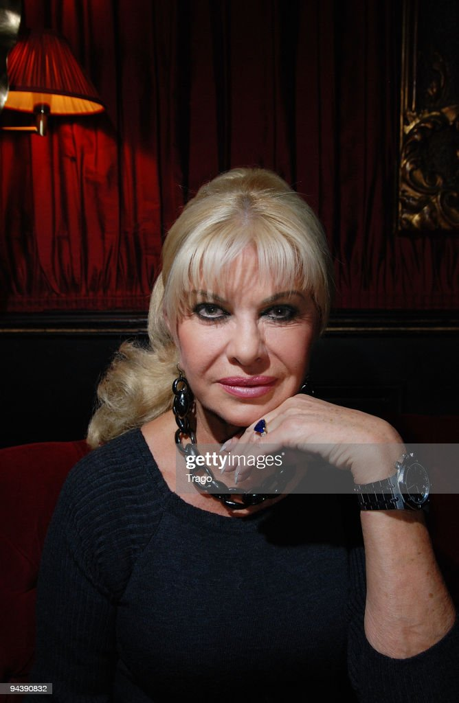 Ivana Trump attends jeweler Edouard Nahum's presentation of a new collection at Mathis Club on December 13, 2009 in Paris, France.