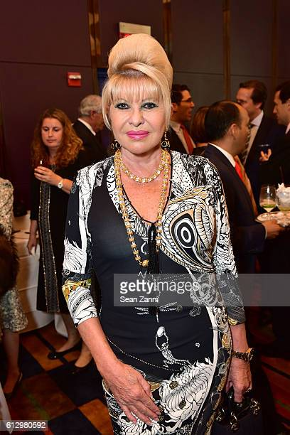 Ivana Trump attends Lifeline NY Annual Benefit Luncheon at Le Cirque on October 5 2016 in New York City
