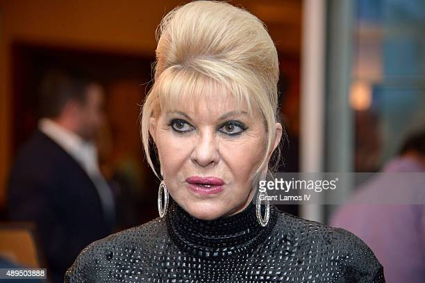 Ivana Trump attends the 9th Annual Eric Trump Foundation Golf Invitational Auction Dinner at Trump National Golf Club Westchester on September 21...
