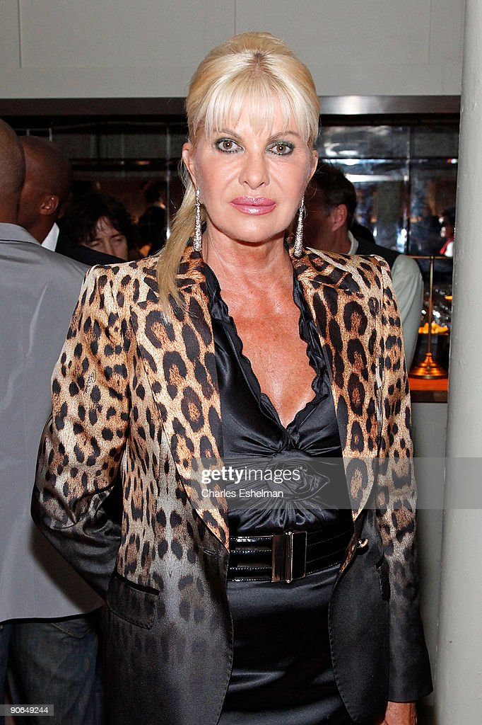 Ivana Trump attends the Domenico Vacca Spring 2010 presentation at the Soho House on September 12, 2009 in New York City.