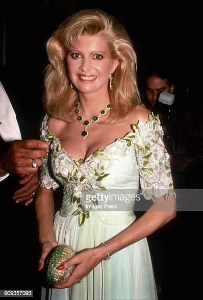 Ivana Trump circa 1990 in New York City
