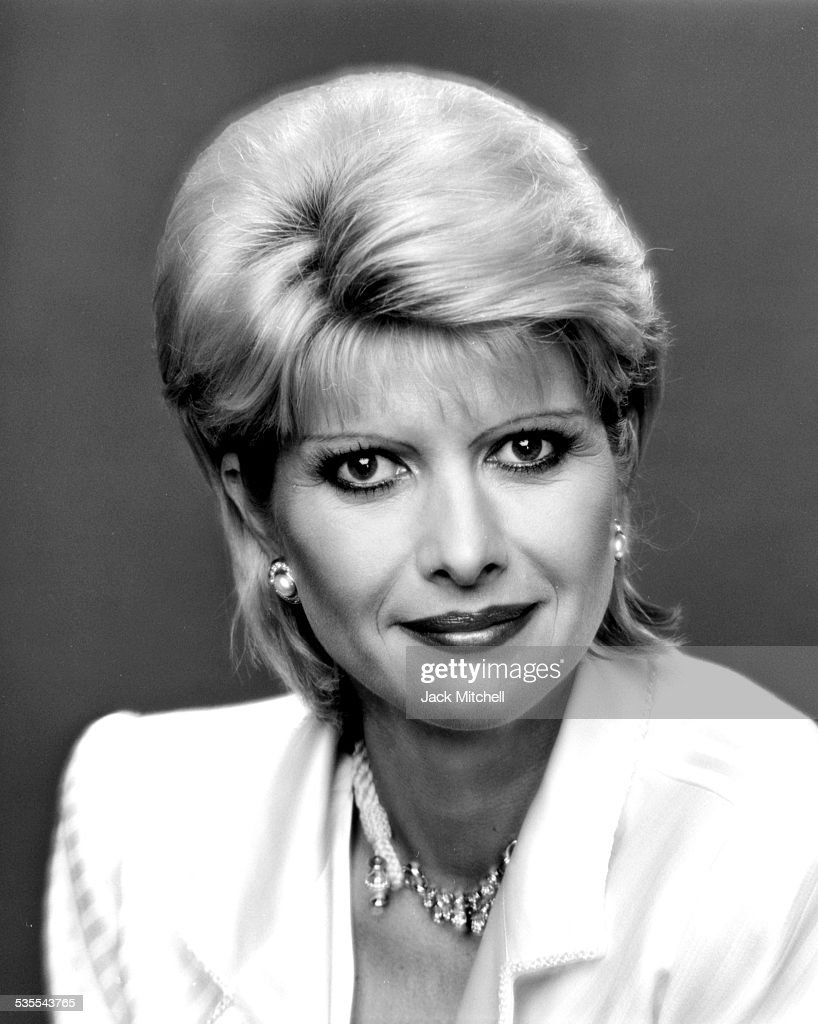 Ivana Trump Fashion Model