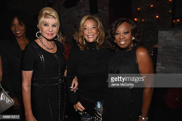 Ivana Trump Denise Rich and Star Jones attend the Angel Ball launch party at TAO on October 7 2014 in New York City