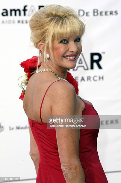 Ivana Trump during 2003 Cannes Film Festival Cinema Against Aids 2003 to benefit amfAR sponsored by Miramax Arrivals at Le Moulin de Mougin in Cannes...