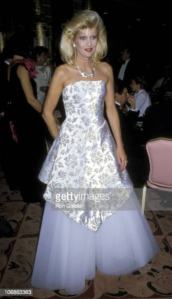 Ivana Trump during 'An Evening at Trump's Castle' to Benefit United Cerebral Palsy November 1 1985 at New York Hilton Hotel in New York City New York...