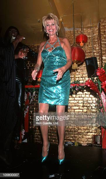 Ivana Trump during Auction Party Benefiting Bailey House at Lucky Cheng's in New York City New York United States