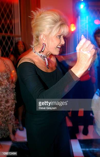 Ivana Trump during Cannes 2002 Damon Dash Hosts The RocAFella Films Party at Synergy Mansion in Cap d' Antibes at The Synergy Mansion in Cap d'...