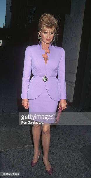 Ivana Trump during Ivana Trump Party April 26 1995 at Mortimer's Restaurant in New York City New York United States