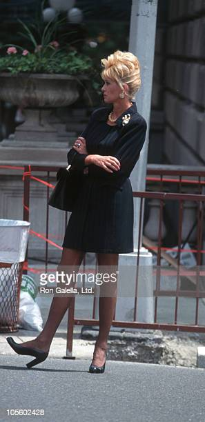 Ivana Trump during Ivana Trump Sighting on Madison Avenue May 21 1998 at Madison Avenue in New York City New York United States