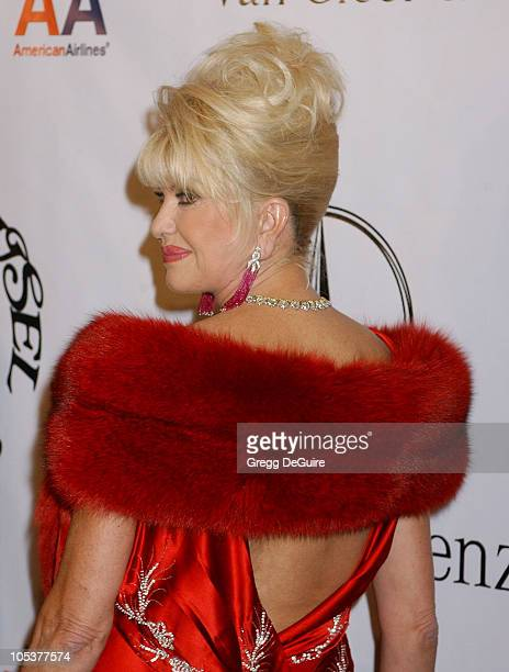 Ivana Trump during Mercedes Benz Presents the 16th Annual Carousel Of Hope Gala Arrivals at Beverly Hilton Hotel in Beverly Hills California United...