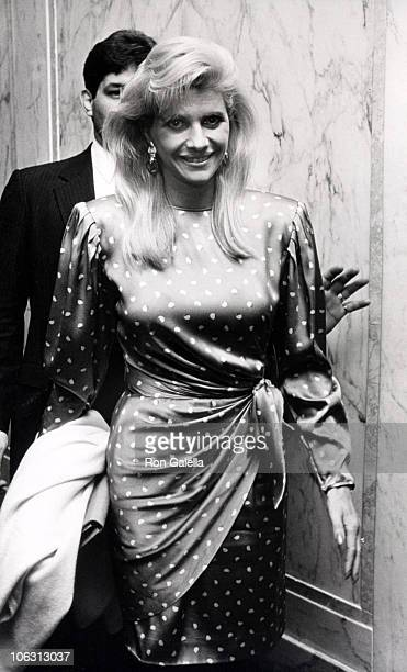 Ivana Trump during Opening Night of Cabaret Entertainer Paul Balfeur February 22 1990 at Plaza Hotel in New York City New York United States