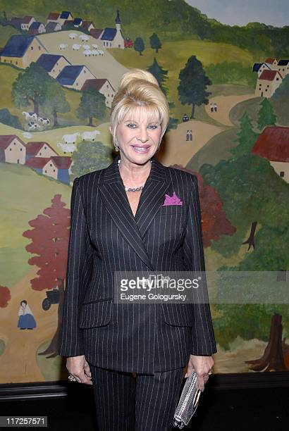 Ivana Trump during Opening Night of the 2007 Winter Antiques Show to Benefit the East Side House Settlement January 18 2007 at The Armory in New York...