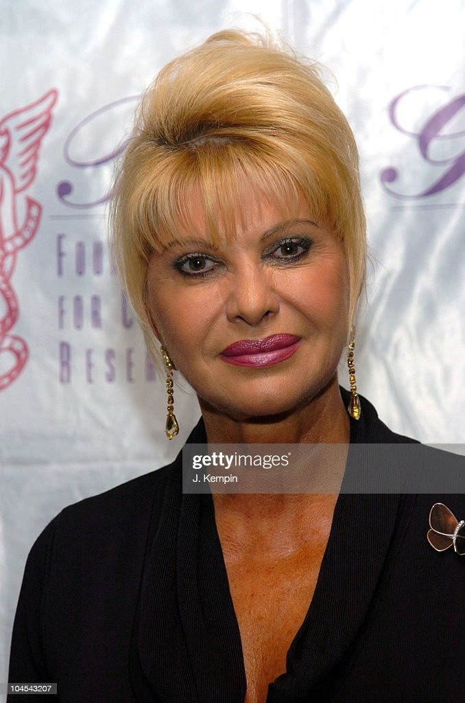 Ivana Trump during The...