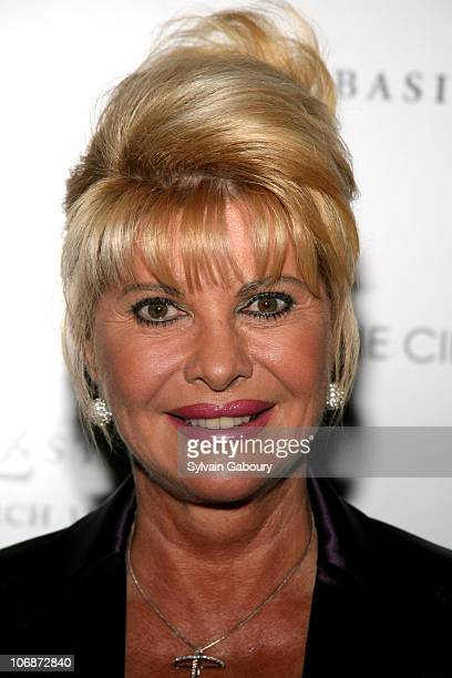 Ivana Trump during The Cinema Society and Dior Beauty presented MGM Pictures and Sony Pictures World Premiere of 'Basic Instinct 2' at AMC Lincoln...