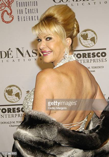 Ivana Trump during The GP Foundation for Cancer Research 4th Annual Angel Ball at Marriott Marquis in New York City New York United States