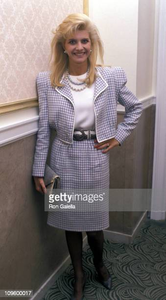 Ivana Trump during The Mount Sinai Medical Center Benefit Fashion Show September 27 1989 at Plaza Hotel in New York City New York United States