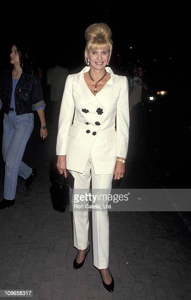 Ivana Trump during 'What is Fame in the 20th Century' Panel Discussion May 24 1993 at Joseph Papp Public Theater in New York City New York United...