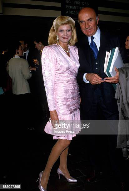 Ivana Trump guest attend the Moda Italia Gala promoting Italian trade circa 1989 in New York City