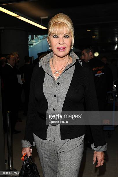 Ivana Trump is seen arriving at Nice airport during The 66th Annual Cannes Film Festival on May 17 2013 in Nice France