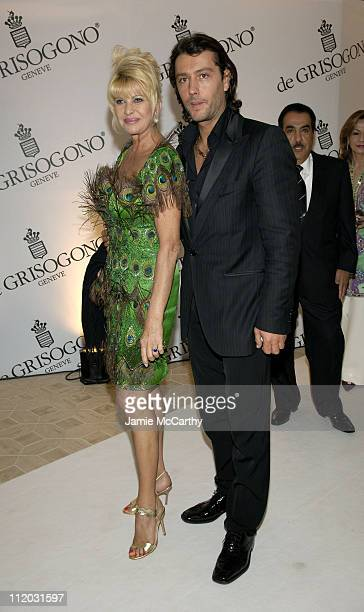 Ivana Trump Ivana Trump and Rossano Rubicondi during 2005 Cannes Film Festival de Grisogono Party at Hotel Du Cap in Cannes France