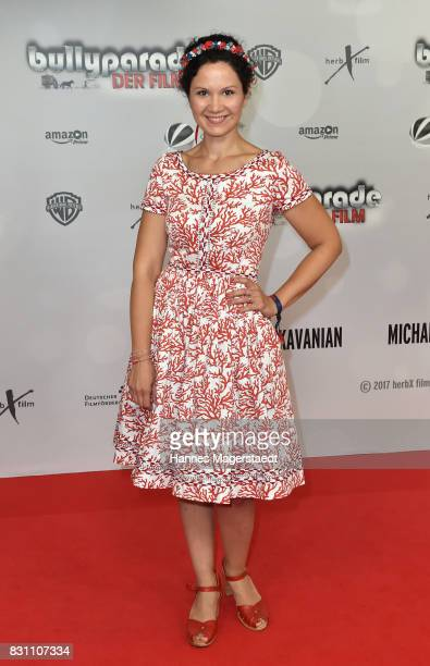Ivanka Brekalo during 'Bullyparade Der Film' premiere at Mathaeser Filmpalast on August 13 2017 in Munich Germany
