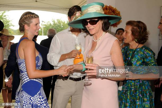 Ivanka Trump and Diana Taylor attend 2010 VEUVE CLICQUOT Polo Classic at Governors Island on June 27 2010 in New York City