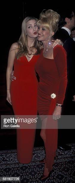 Ivanka Trump and Ivana Trump attend PreValentine's Birthday Party for Ivana Trump on February 12 1998 at Choas in New York City
