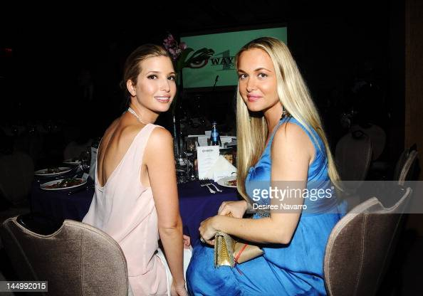 Ivanka Trump and Vanessa Trump...