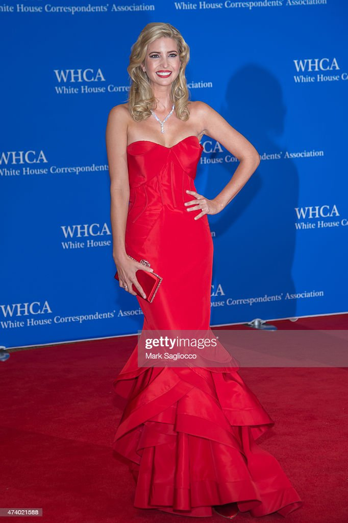Ivanka Trump attend the 101st Annual White House Correspondents' Association Dinner at the Washington Hilton on April 25, 2015 in Washington, DC.