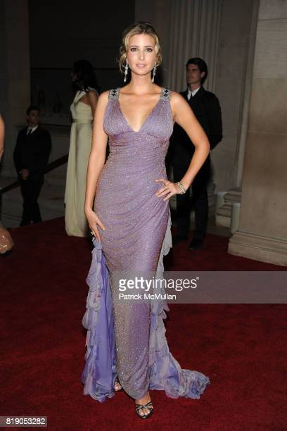 Ivanka Trump attend THE METROPOLITAN MUSEUM OF ART'S Spring 2010 COSTUME INSTITUTE Benefit Gala at THE METROPOLITAN MUSEUM OF ART on May 3rd 2010 in...