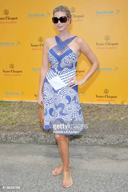 Ivanka Trump attends 2010 VEUVE CLICQUOT Polo Classic at Governors Island on June 27 2010 in New York City