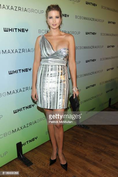Ivanka Trump attends 2010 WHITNEY ART PARTY Presented by BCBGMAXAZRIA at 82Mercer on June 9 2010 in New York City
