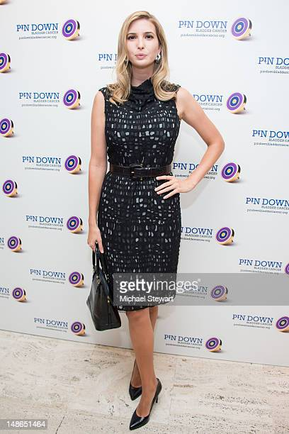 Ivanka Trump attends 2012 Pin Down Bladder Cancer at the Four Seasons Grill Room on July 18 2012 in New York City