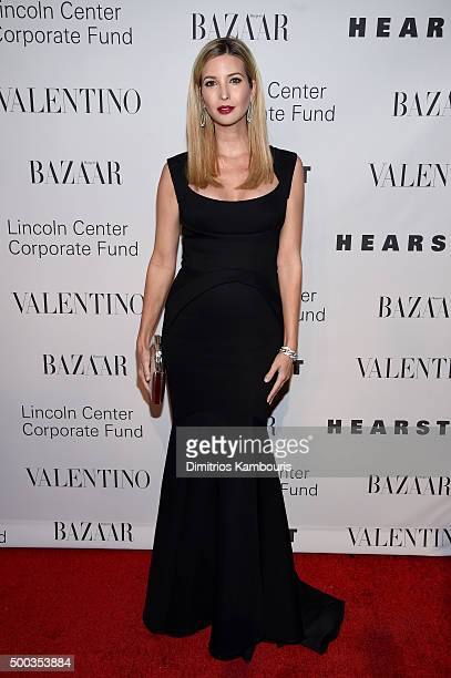 Ivanka Trump attends an evening honoring Valentino at Lincoln Center Corporate Fund Black Tie Gala on December 7 2015 in New York City