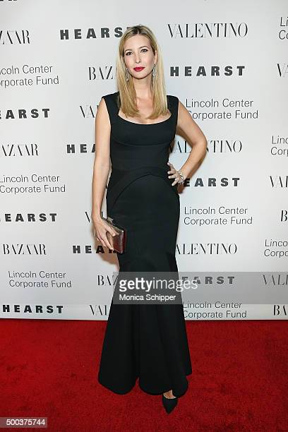 Ivanka Trump attends 'An Evening Honoring Valentino' Lincoln Center Corporate Fund Gala Inside Arrivals at Alice Tully Hall at Lincoln Center on...