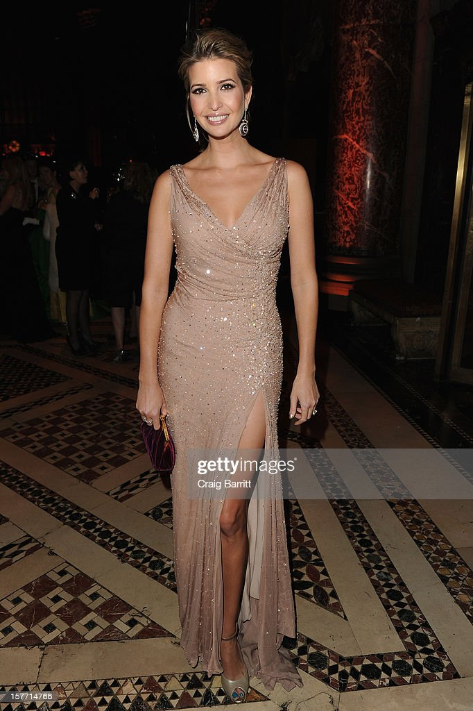 Ivanka Trump attends European School Of Economics Foundation Vision And Reality Awards on December 5, 2012 in New York City.
