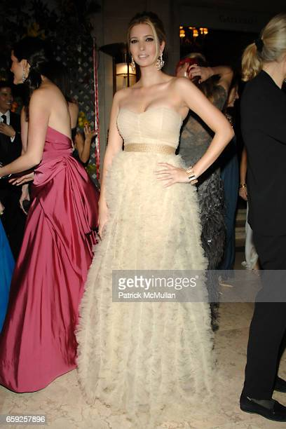 Ivanka Trump attends Frick Collection Young Fellows Ball at Frick Collection on February 26 2009 in New York City